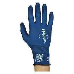 Ansell 11-818 Hyflex Coated Gloves,Fortix Nitrile,Blue,Pr
