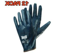 12 Pack Ansell Hynit 32-105 Fully Coated Nitrile Impregnated