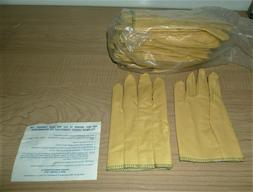 12 Pair BEST PVC coated textured Gloves Men's Small or Women