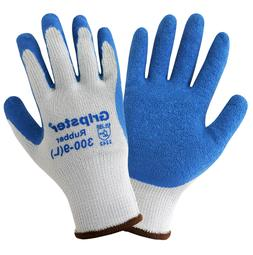 Global Glove Gripster General Purpose Rubber Coated Work Gl