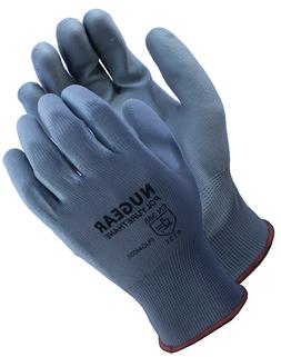 12 Pairs Nugear Polyurethane  Palm Coated Protective Safety