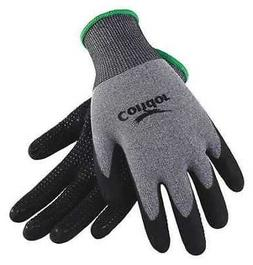 CONDOR 19K988 Coated Gloves,XL,Gray/Black,PR
