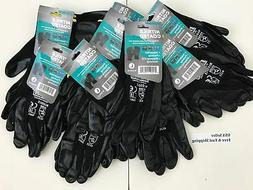3 6 12 pairs nitrile coated gloves