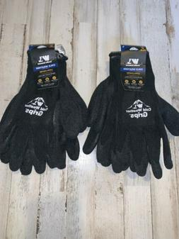 4 Pair Pack Wells Lamont Cold Weather Grips Latex Coated Wor