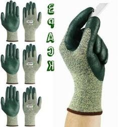 3 pack Ansell 11-511 Hyflex Gloves Palm Coated Kevlar GLOVES