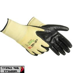 ANSI A2 K-GRIP CUT RESISTANT WORK GLOVES, MADE WITH KEVLAR,