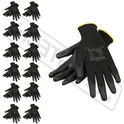 Breathable ultra-thin flexible gloves polyurethane palm coat
