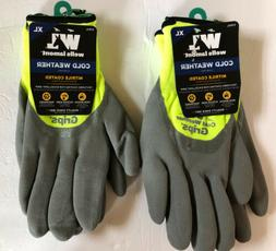 Wells Lamont Cold Weather Grips Gloves Size X-Large  Lot of