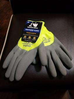 Wells Lamont Cold Weather Grips Gloves Size X-Large  576XL N
