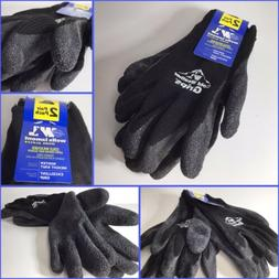 Cold Weather Latex Work Gloves Coating for Excellent Grip La