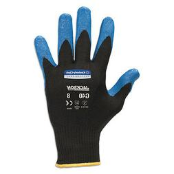 G40 Nitrile Coated Gloves, Large/Size 9, Blue, 12 Pairs