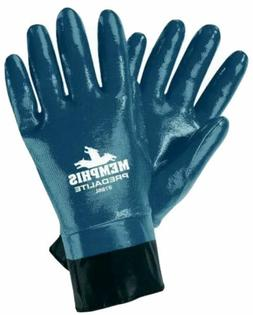 MCR Safety Gloves Chemical Resistant Nitrile Fully Coated PV