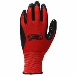Grease Monkey General Purpose Nitrile Coated Work Gloves, Si