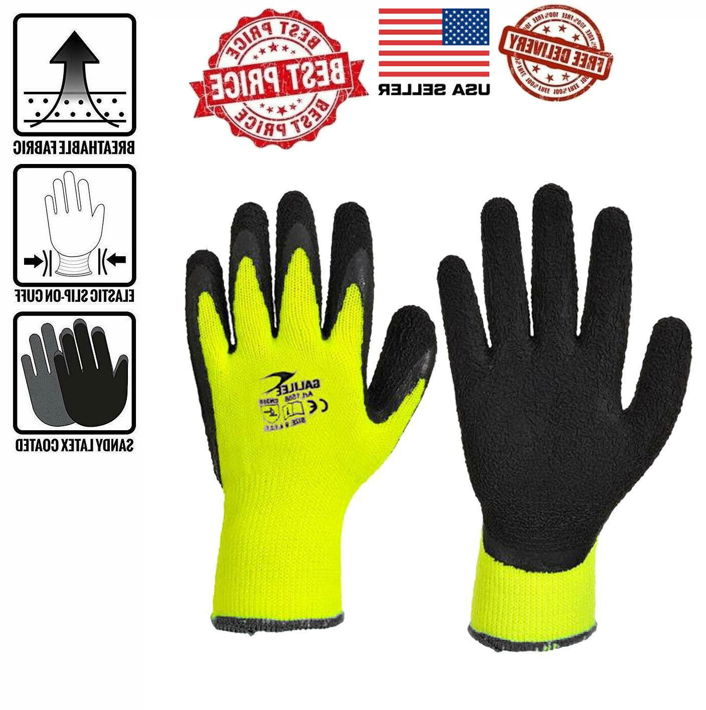 10 pair pack abrasion resistant work gloves