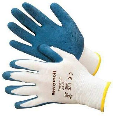 125 xl coated gloves xl blue white