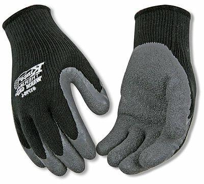 1790 xl warm grip latex coated gloves