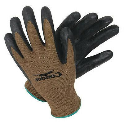 4nmp7 coated gloves l black brown pr