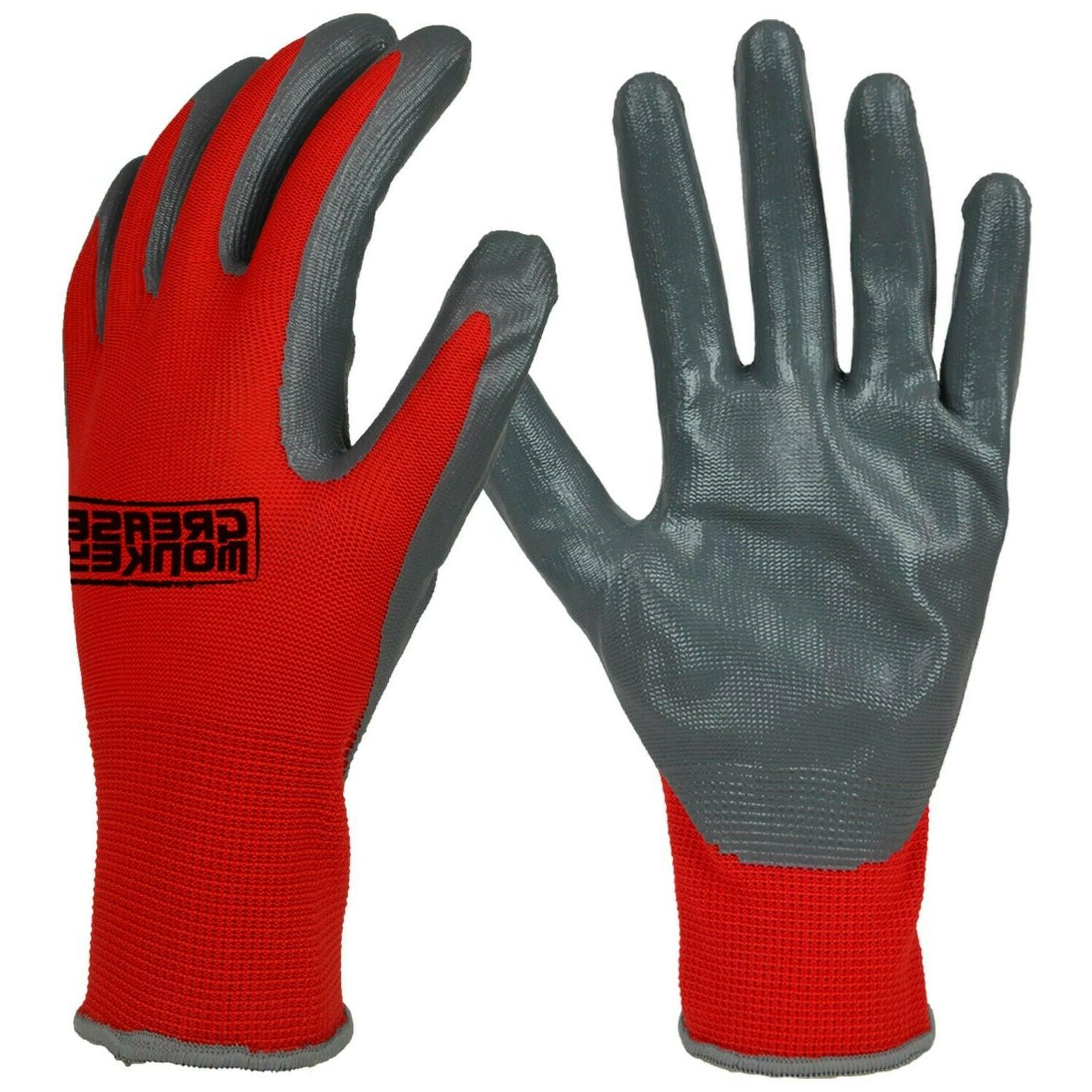 General Purpose Work Gloves, Size Large - of