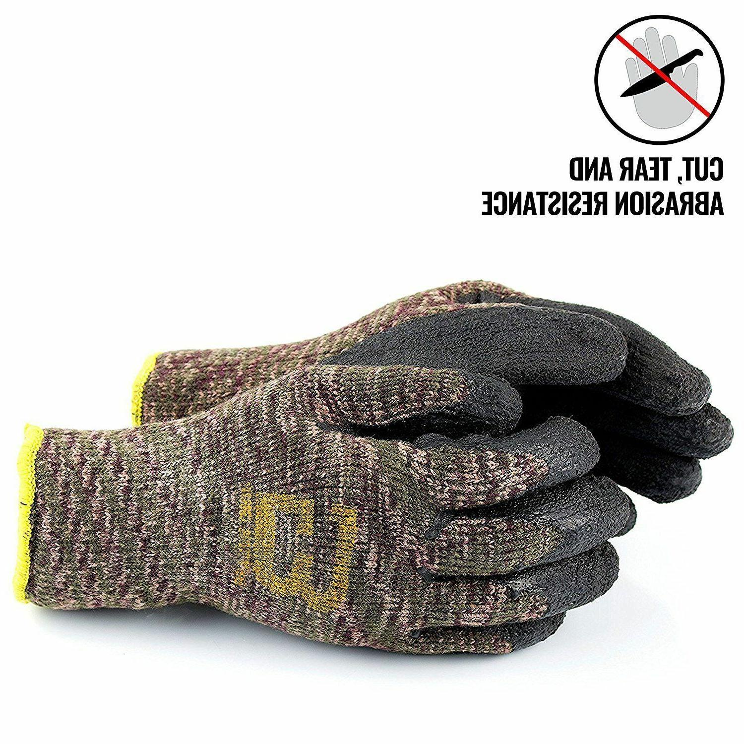 Better Insulated Rubber-Coated Gloves