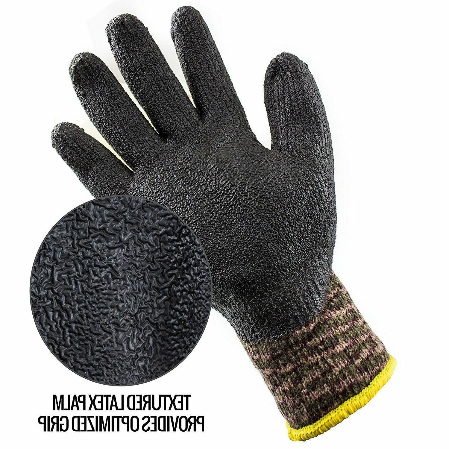 Better Rubber-Coated Gloves -Crinkle