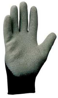 KIMBERLY-CLARK 97271 Coated Gloves,M,Black/Gray,PR