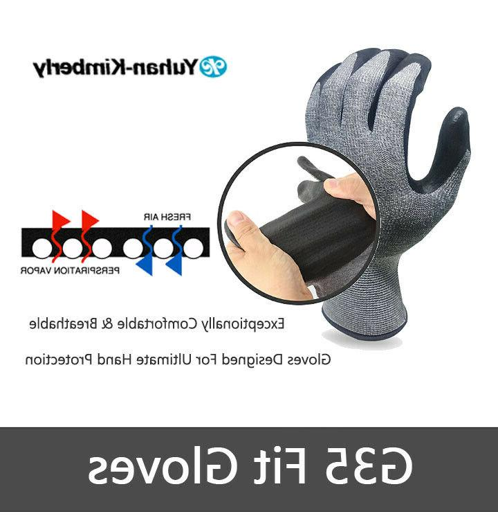 kimberly work gloves g35 3 pairs breathable