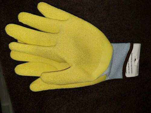 HARDY Latex Work Gloves Size New