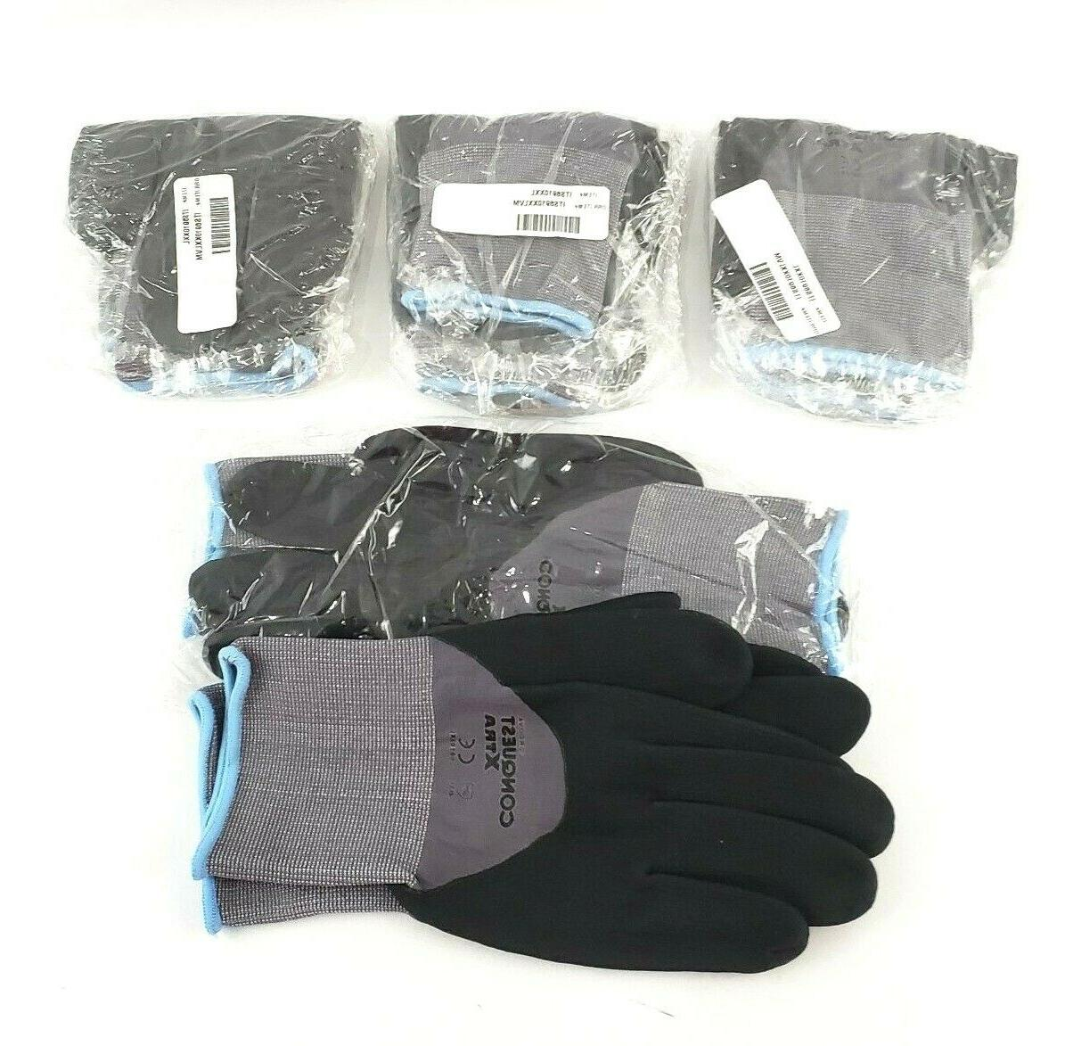 mens size xxl conquest xtra nitrile coated
