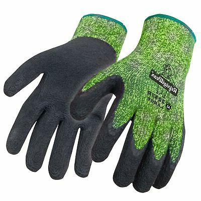 nitrile coated hivis thermal ergo cut resistant