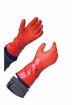 Showa 460 Insulated 12 inch PVC Coated Gloves XL, 12 Pairs