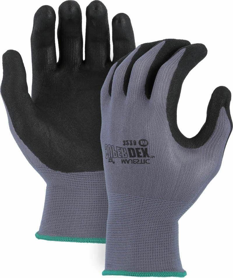 Majestic SuperDex 3228 Micro Foam Nitrile Palm Coated Glove,