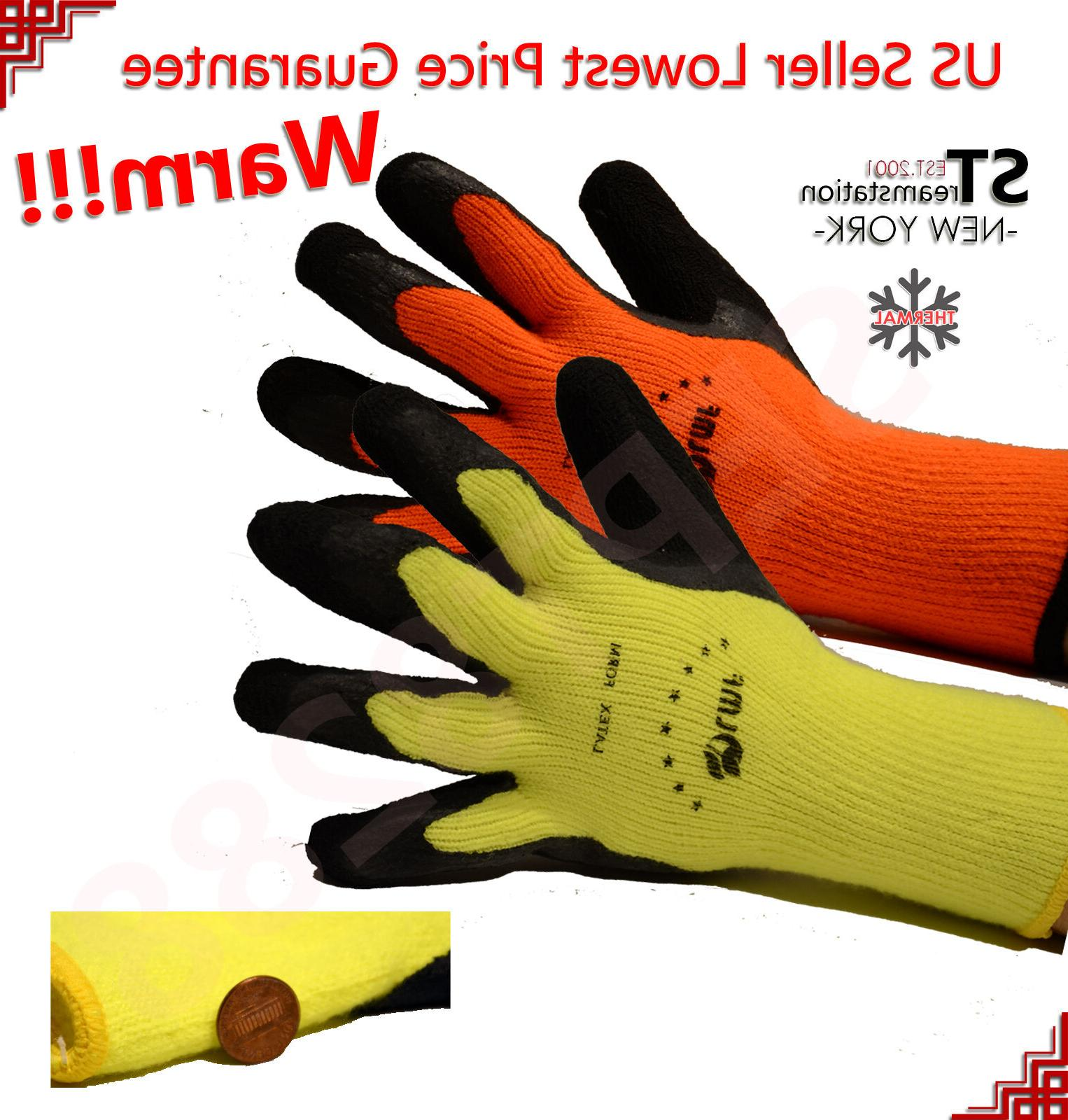 snow removal winter warm insulated lining rubber