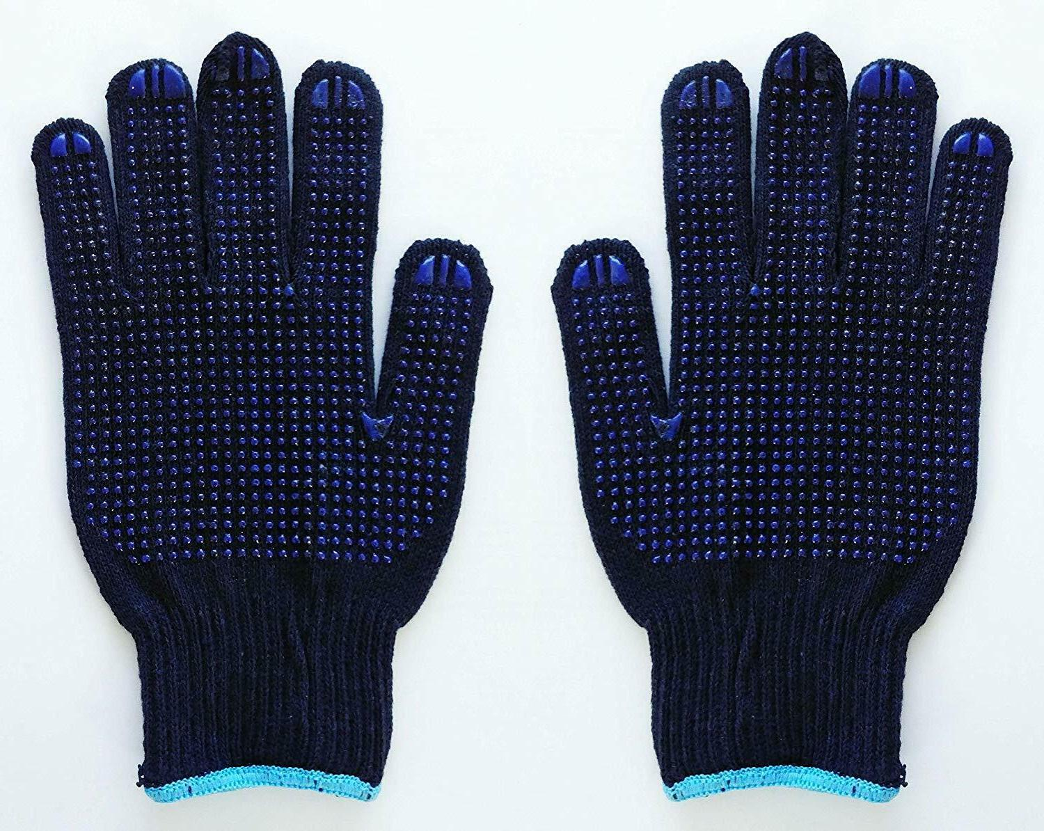 work gloves dotted coating easy grip safety