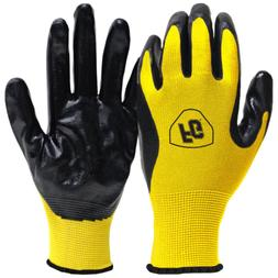 General Purpose Nitrile Coated Gloves  Flexible Safety Gear