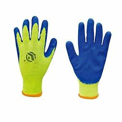 latex coated cotton easy grab safety protection