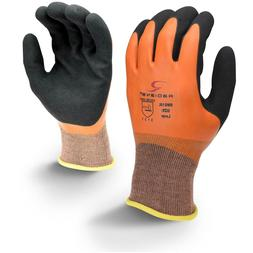 Radians Latex Coated Waterproof Nylon Work Gloves
