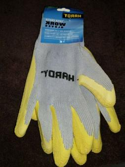 latex coated work gloves size xl new