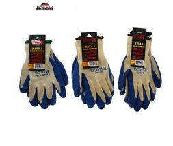 latex palm coated work gloves textured 2