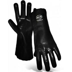 Boss Lined PVC Coated Gloves Size Large