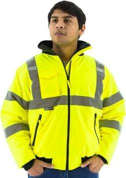 Majestic Glove 75-1300 PU Coated Polyester High Visibility B