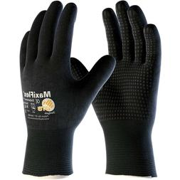 MaxiFlex Endurance Nitrile Coated Nylon Lycra Work Gloves, B