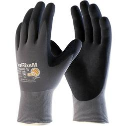 maxiflex ultimate nitrile foam coated knit nylon