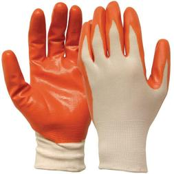 Medium White with Orange Nitrile Coated General Purpose Glov
