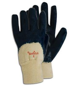 Magid MultiMaster Mens Nitrile Palm Coated Gloves, 12 Pairs