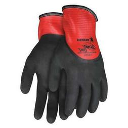 "MCR SAFETY N96785XS Coated Gloves,Foam Nitrile,9"",XS,PR"