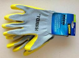 NEW! HARDY Latex Coated Work Gloves, Cut-Resistant and Super