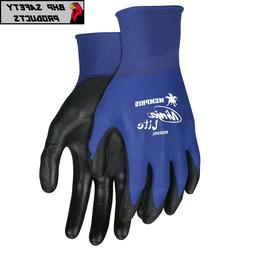 POLYURETHANE PU COATED WORK GLOVES MCR MEMPHIS NINJA LITE  M