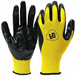 Firm Grip Nitrile Coated Gloves  Brand New