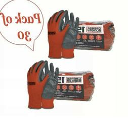 Grease Monkey Nitrile-Coated Work Gloves  2 pack