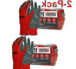 Grease Monkey Nitrile-Coated Work Gloves - Pack of 30 pairs